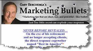 Marketing Bullets