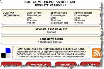 how to put press release on website