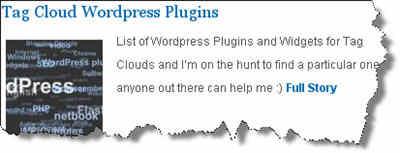 Tag Cloud WordPress Plugins