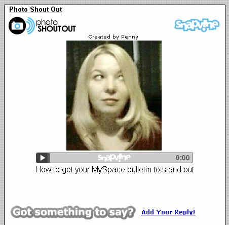 Set MySpace Username URL and @myspace.com Email