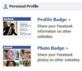 Facebook Personal Profile