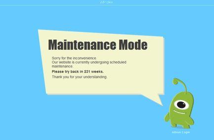 WP Maintenance Mode – Really Nice Looking Plugin!