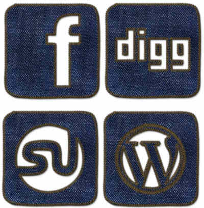 Best Blue Denim Jeans Social Media Graphics