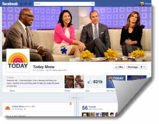 todayshow new facebook timeline page