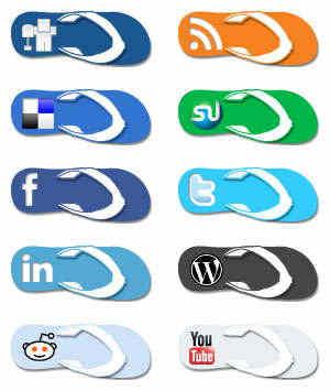 Super Cool Social Media Icons