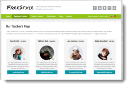 Freestyle Responsive WordPress Theme