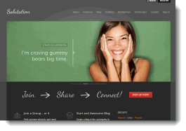 Salutation WordPress Buddy Theme