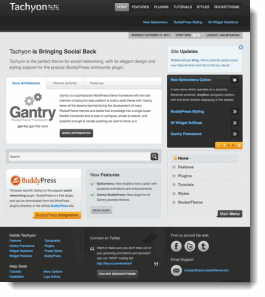 Tachyon WordPress Theme