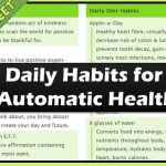 Daily Habits for Automatic Health