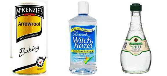 Arrowroot Witch Hazel Vinegar