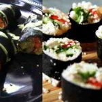 Raw Cauliflower Sushi Rolls