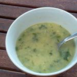 Zucchini Soup Final Result