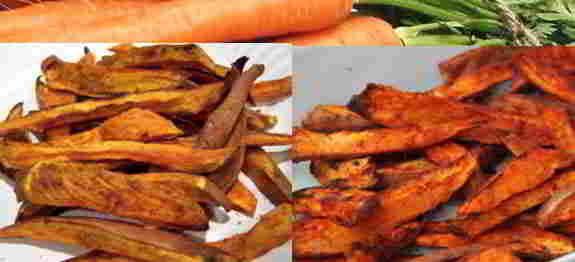 Sweet Potato & Carrot Fries