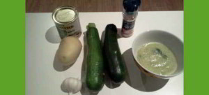 Zucchini Soup Ingredients