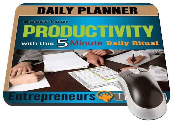 [Daily Planner] Free Template to Maximize Your Productive Day