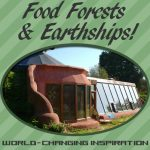Foodscaping, Earthships & Food Forest Inspiration