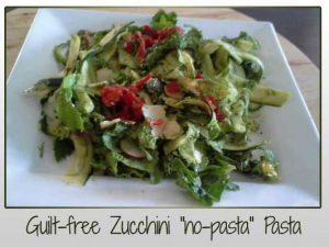 Guilt-Free Zucchini Pasta