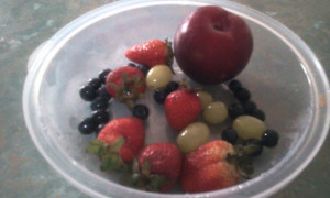 Berries Grapes Plum