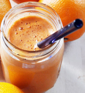 Carrot, Apple, Lemon, Orange Juice
