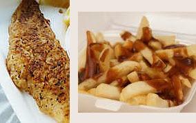 Flake Chips Gravy