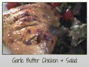 Garlic Butter Chicken Salad