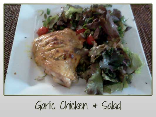 Garlic Chicken Salad