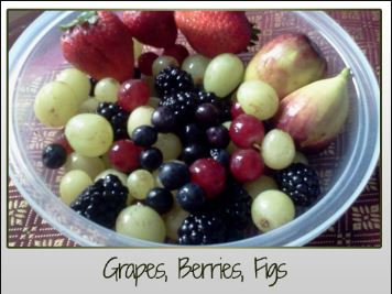 Grapes Berries Figs