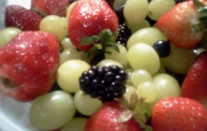 Grapes Strawberries Blueberries Blackberries