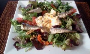 Sardines Egg Salad