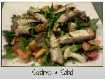 Sardines & Salad