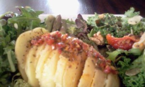 Steamed Potato, Cauliflower & Salad