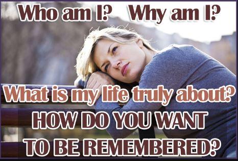 Who Am I Why Am I