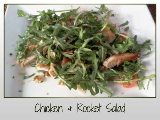 Chicken and Rocket Salad