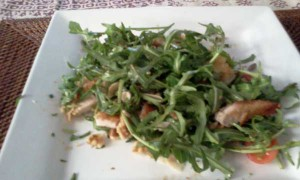 Chicken Rocket Salad