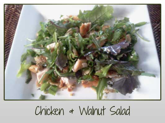 Chicken & Walnut Salad