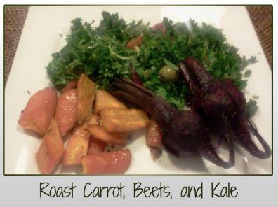 Roast Beets Carrots