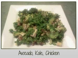 Avocado, Kale Chicken