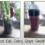 Beet Kale Cucumber Celery Smoothie