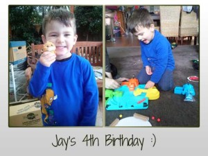 Jays 4th Birthday