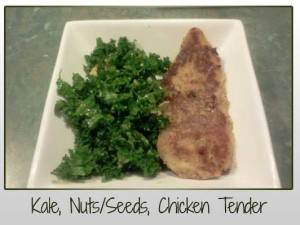 Kale Nuts Seeds Chicken Tender