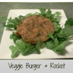 Veggie Burger & Rocket