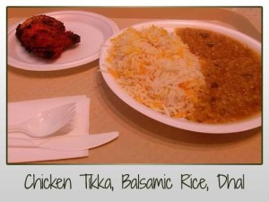 Chicken Tikka Dhal Rice