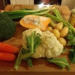 Veggie Soup - Ingredients