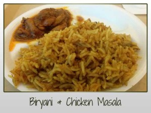 Biryani & Chicken Masala