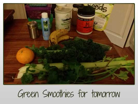 Green Smoothies for tomorrow