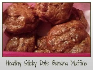 Healthy Sticky Date