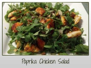 Paprika Chicken Salad