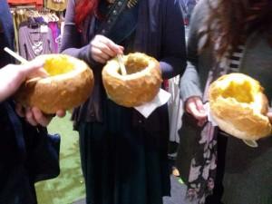 Queen Vic Market Bread Soup