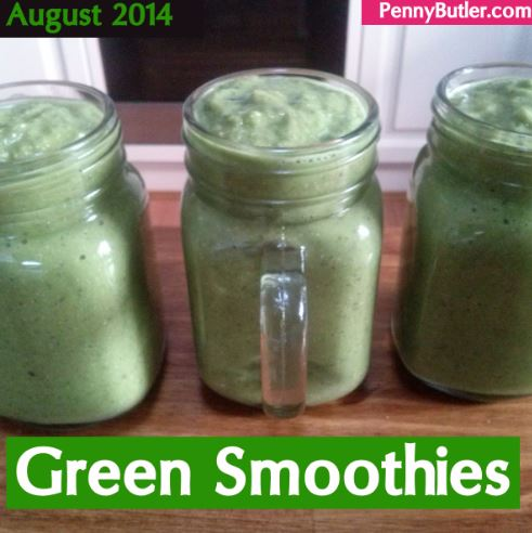 August Green Smoothies [Food Diary]
