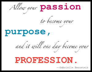 Passion Purpose Profession